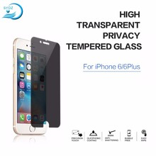 Anti-Fingerprint 9H 2.5D Privacy Screen Protecter For Iphone 6S Plus