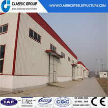 high rise Prefabricated design light steel warehouse steel structure