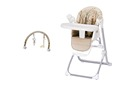 Simple Switch Portable High Chair with swing functionTY868C)