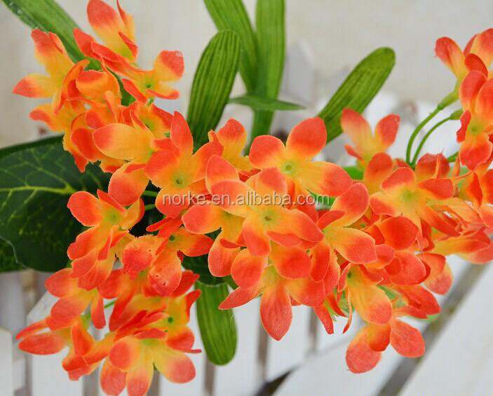 artificial orchid flowers/artificial flower bouquet for decoration