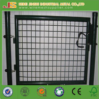 China factory direct hot sale Welded powder coated Metal garden fence garden gate