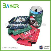 Alibaba top10 vendor cheaper promotional 3mm cute tube neoprene can cooler