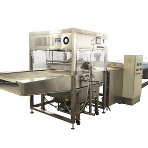 easy operated confectionery chocolate enrobing pan machine with CE