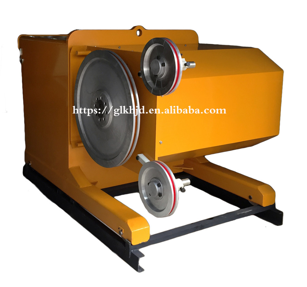 Granite Wire Saw Cutting Machine 15kw Cheap Price - Buy High Quality ...