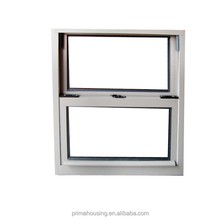 aluminium single glass top hung window type