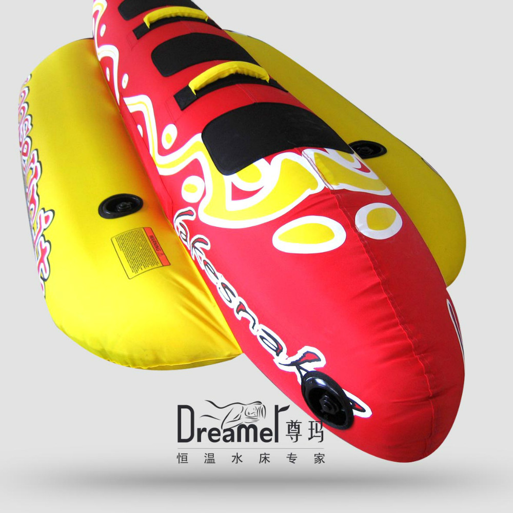 Hot selling 3 person inflatable banana boat for sale
