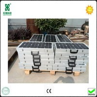 Best price 40w folding protable solar power panels for sales