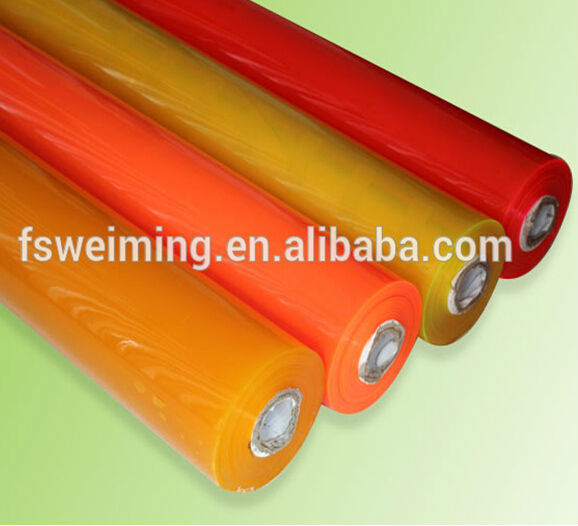 Super clear PVC Film for packing
