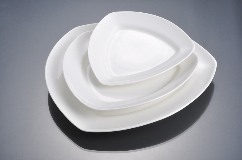 High quality decorative square dinner plates with excellent price