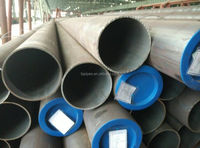 GB/T 8162 8163 standard steel pipe with plastic cap at the ends