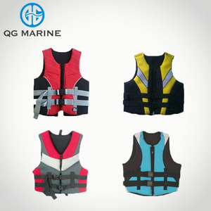 Marine Colorful Water Sports Neoprene Life Jacket Life Vest