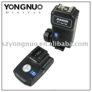 YONGNUO 4 canali di trigger flash wireless pt-04 per sony
