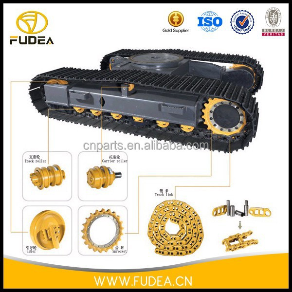 excavator undercarriage spare parts for cat E200B track chain assembly