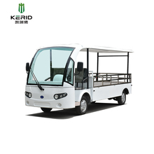 Large Loading Capacity Electric Pickup Truck With Alloy Payload Box