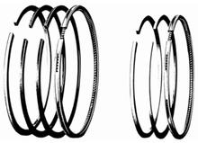 Spring Loaded Piston Rings