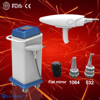 532/1064nm single pulse ND yag laser parts