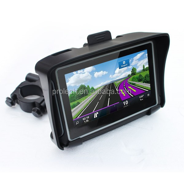 Prolech motorcycle gps with 8G gps navigator car radio for toyota vitz