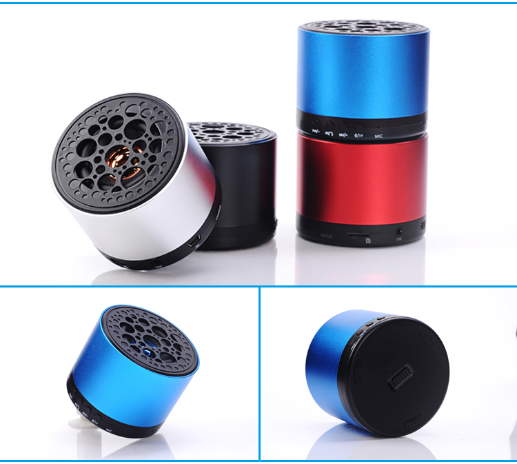 Superb Quality Free Music Player, Stereo mini a9 bluetooth speaker