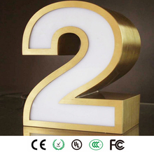 Custom illuminated Advertising Boards Types Channel Letters Signs