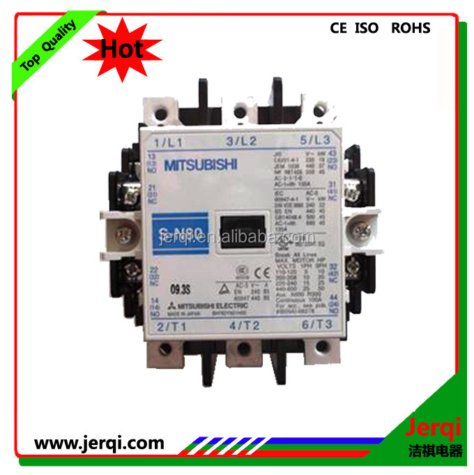 White color 220V 80A mitsubishi magnetic contactor SN-80