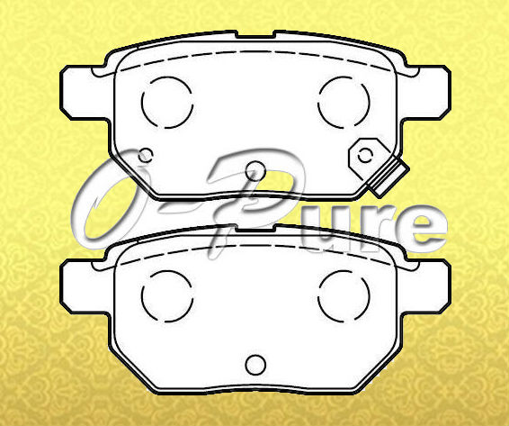 spare parts for Toyota Yaris o-pure less metal brake pad OE 04466-12130 None asbestos good price best seller