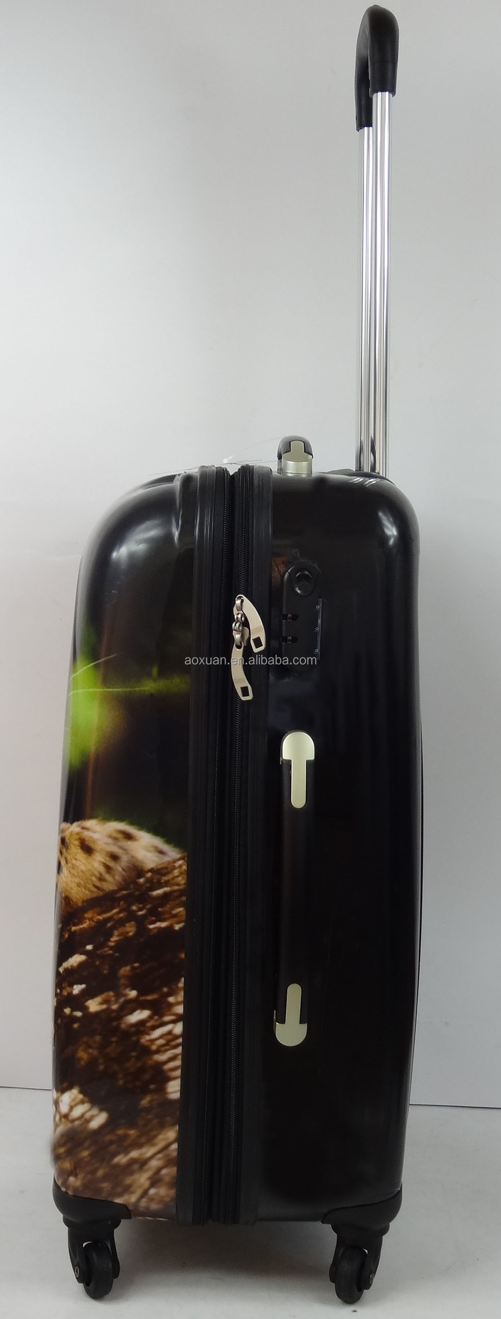 animal print Luggage bag 2015 new design from shanghai luggage factory