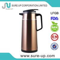 Office supplies 1L ss body glass liner vacuum coffee jug (JGJS-P)