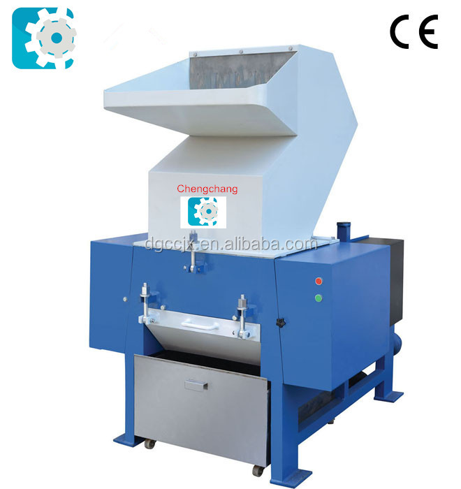 Commercial plastic shredder and crusher for PET bottle