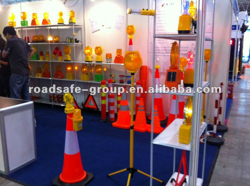 strong reflective soft flexible colored folding traffic cone/mini traffic cones
