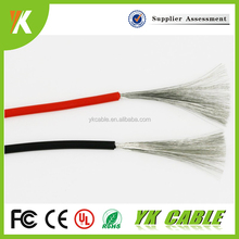 High temperature UL RoHS silicone coated 18 gauge 12 gauge electrical wire