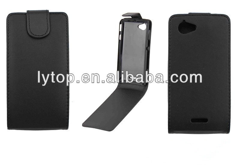 Flip Leather Case for Sony Xperia L S36h (C2105)