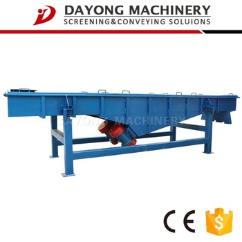 vibrating sieve machine for charcoal