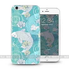Fish pattern mobile phone cover for iPhone 5s or 6plus protective case