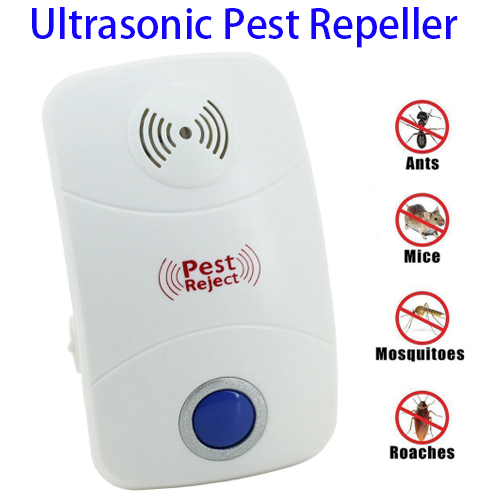 New Pattern Electronic Pest Repeller Reject Plug Ultrasonic with LED Light