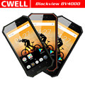 4.7 Inch Gorilla Glass Triple Camera Blackview BV4000 Android IP68 Waterproof Mobile