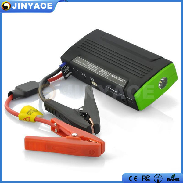 Factory sale li-polymer battery booster 12v portable powerbank jumpstart for car