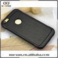 Multi-color/style mobile cover carbon fiber case for iphone 7 black