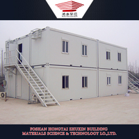 multilayer container house, construction site living container, accommodation container