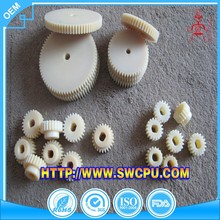 Customized high precision parts cnc machining plastic gear for clocks