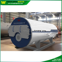 Made in Henan China 12ton WNS natural diesel gas oil fired boiler turbine ramson price