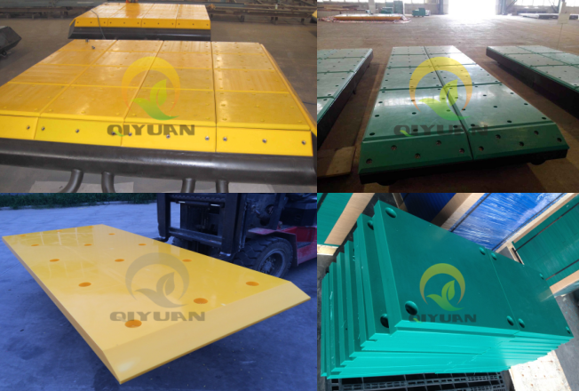 UHMWPE HDPE plastic panel for dock fender bumper dock plate