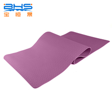 Wholesale One Layer Sky Blue TPE Custom Design 6mm Yoga Mat Eco Friendly