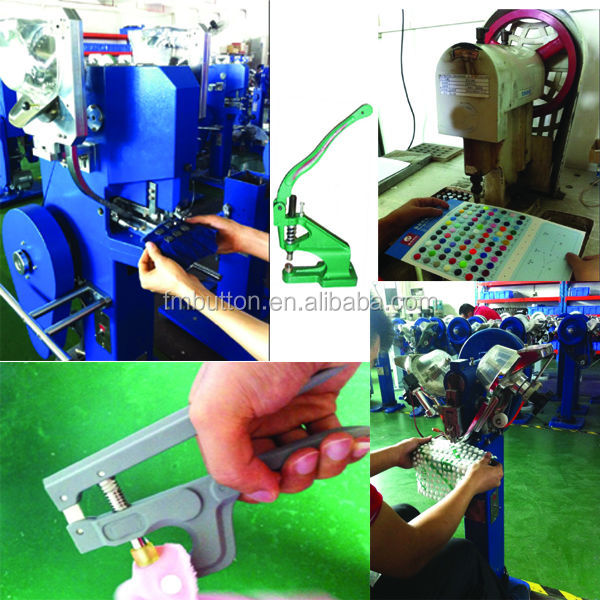 plastic snap button machine