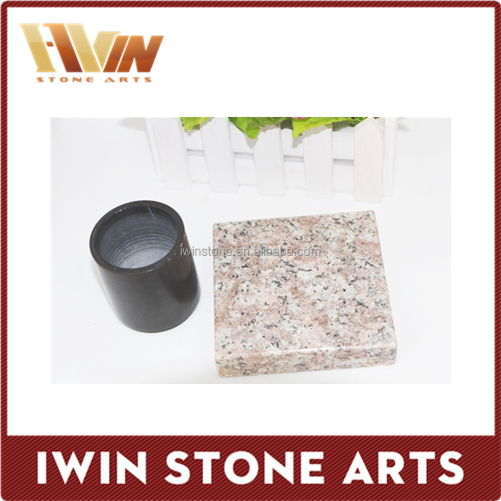 Granite Natural Product : Natural stone granite coasters placemats for wholesales