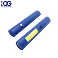 Pomotional Handheld 1LED+COB LED Mini Pen Multifunction LED Torch Light, Work Light Flashlight for Children