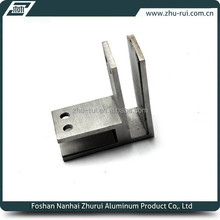 90 degree right angle stainless steel holding glass clamp for connecting glass in the corner