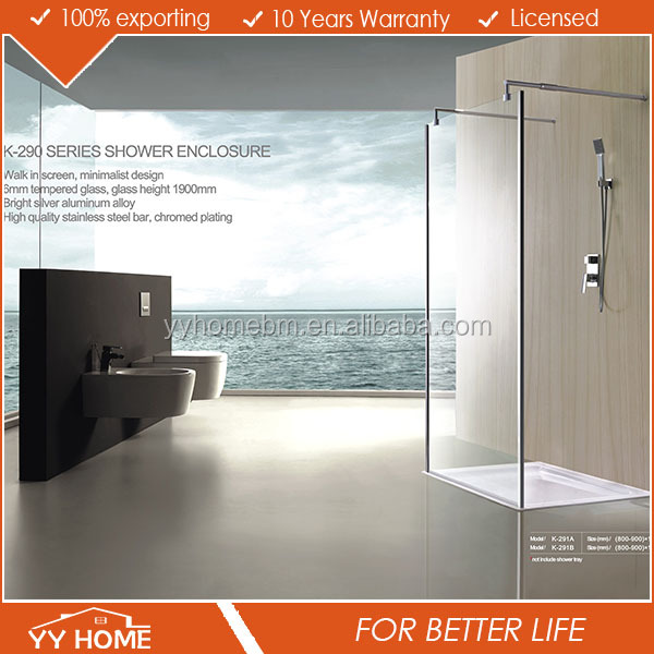 YY Home shower enclosure Telescopic Shower Enclosure Adjustable shower enclosure