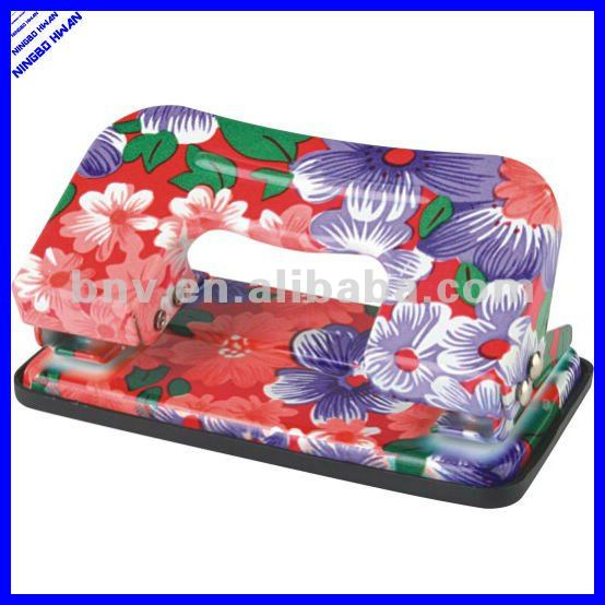 Hot selling fancy new design metal decorative hole punch
