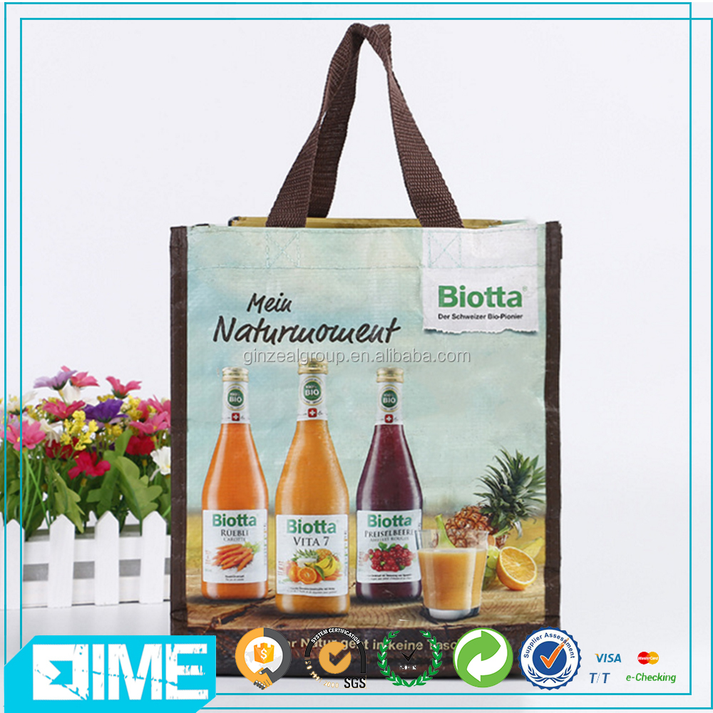 Sedex Audit Customized Durable Pp Non Woven Shopping Bag