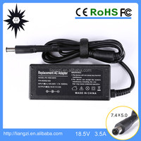 cargador portatil 65w 18.5v 3.5a for hp laptop used